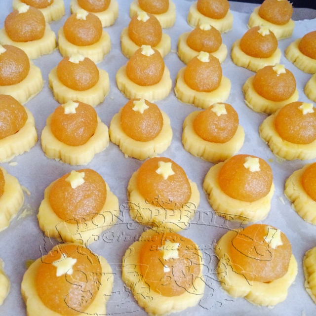 OpenTart Pineapple Tarts Before Baking